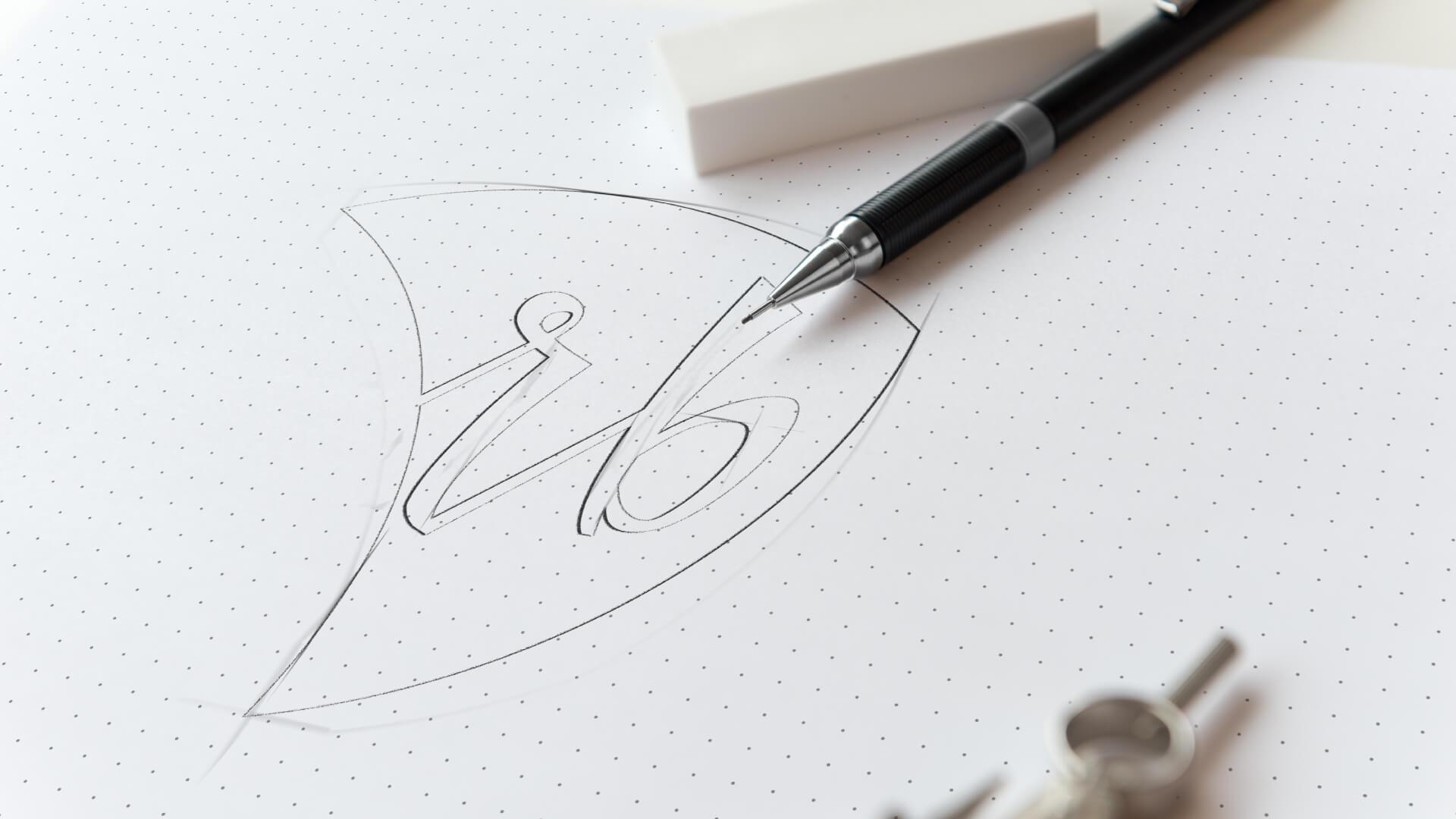 RB Kantoris - logo skice