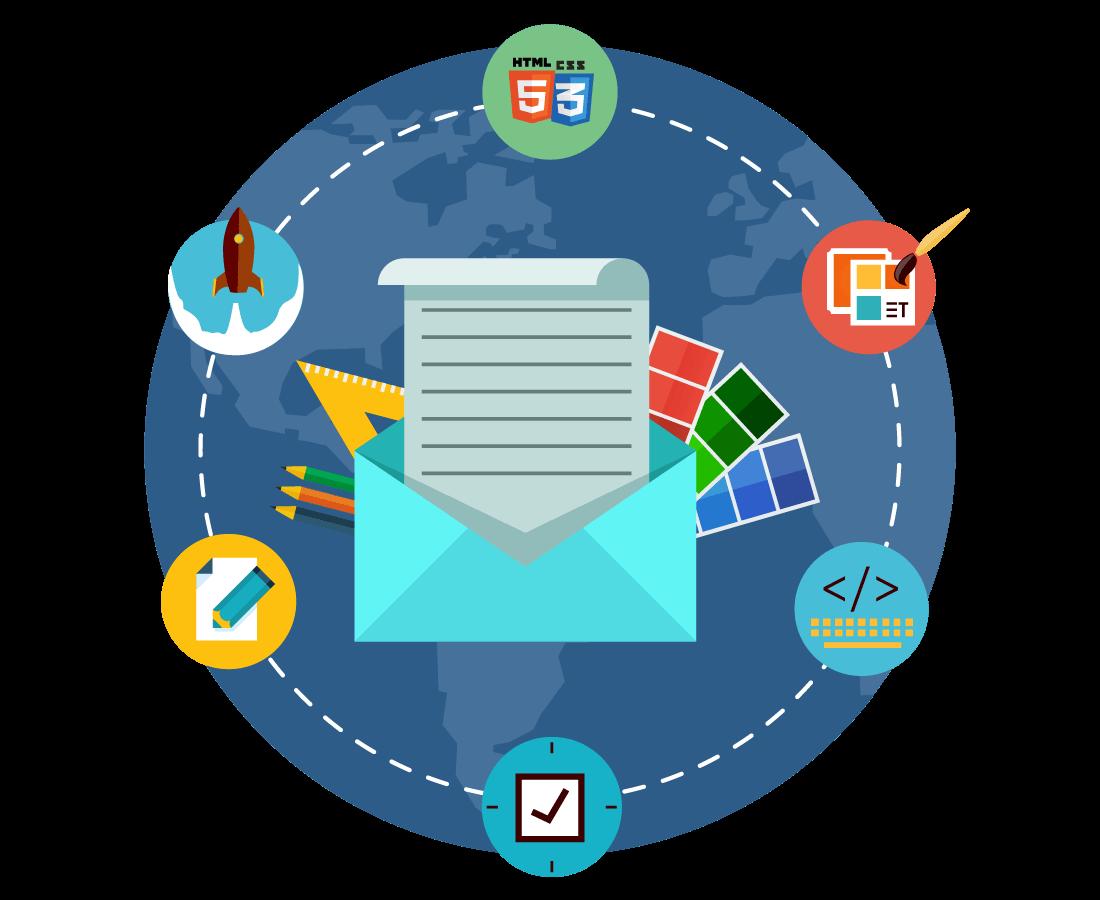 E-pasta dizains un kampaņu izveide