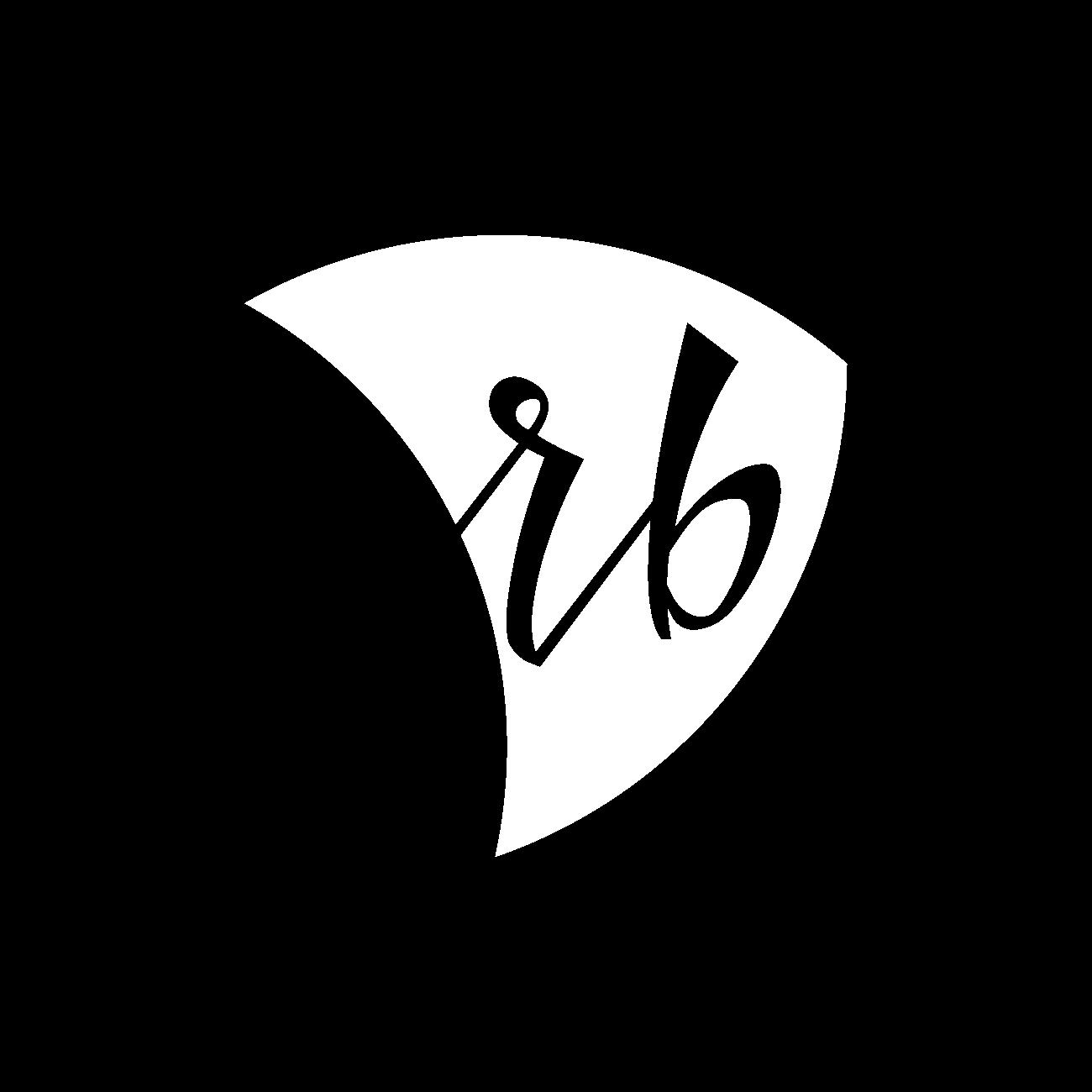 RB Kantoris - logotips uz tumša fona