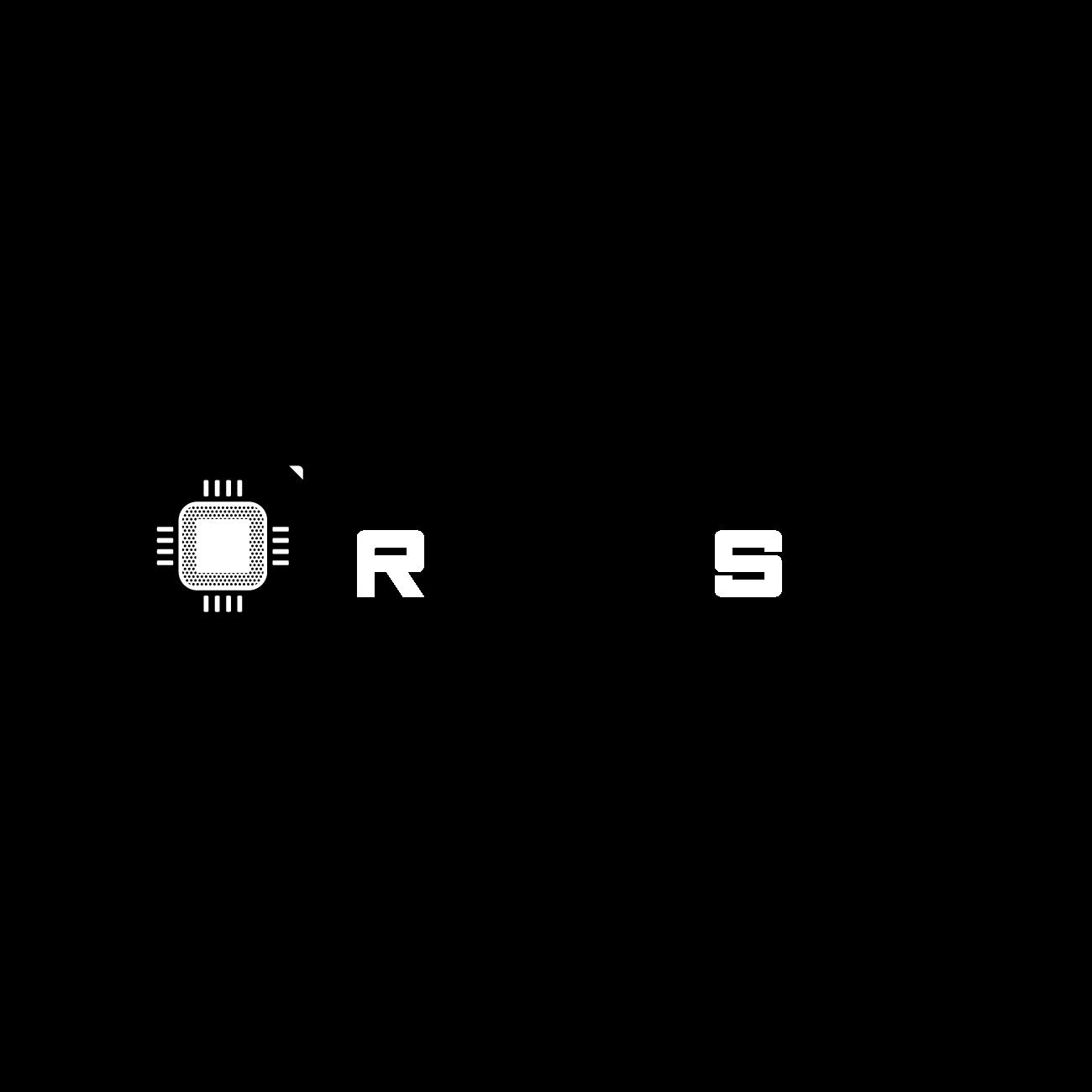 Render Spell - logotips uz tumša fona